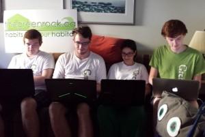 thegreenrock.ca green team