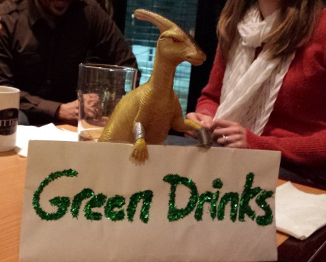 Green Drinks Dinosaur
