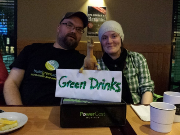 Green Drinks chat