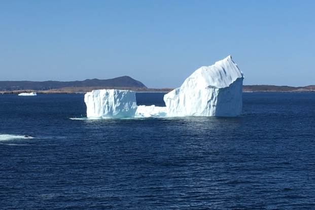 Ferryland Iceberg photo credit: by Perla Hernandez