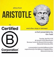 ethics from Aristotle to Certified B Corp with a few stops in between