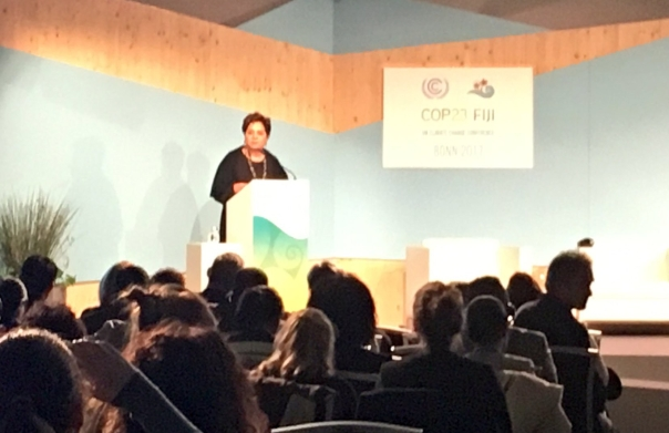 Patricia Espinosa, Executive Secretariat for the United Nations Framework Convention on Climate Change at COP23