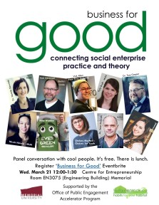business for Good Poster